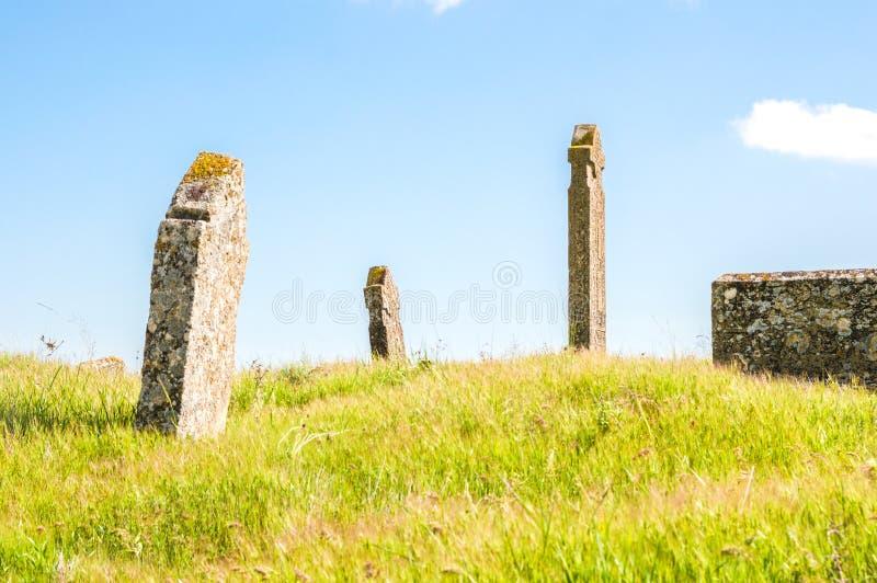 Graven van oude begrafenissen royalty-vrije stock afbeeldingen
