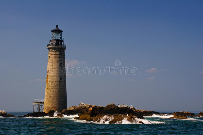 Download Graves Lighthouse stock image. Image of ship, landmark - 18487101