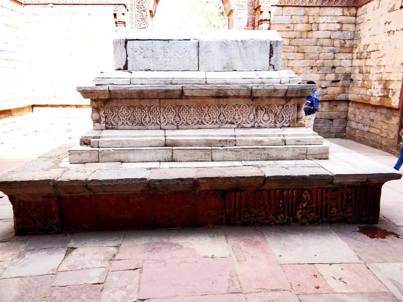 The graves of Muslim rulers, Delhi stock photos
