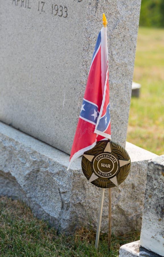 Graves at St Ignatius church Maryland royalty free stock photos