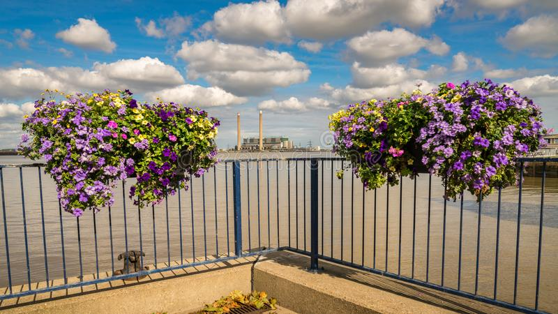 Gravesend, Inglaterra, Reino Unido fotografia de stock