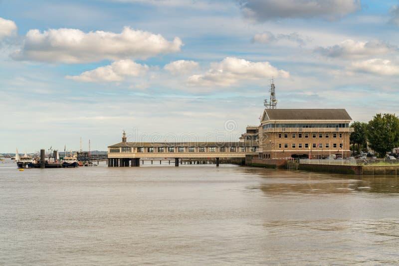 Gravesend, Kent, Inglaterra, Reino Unido fotos de archivo libres de regalías