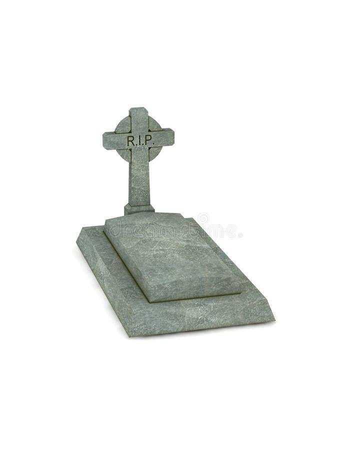 Download Gravestone stock illustration. Illustration of pray, religious - 10336109