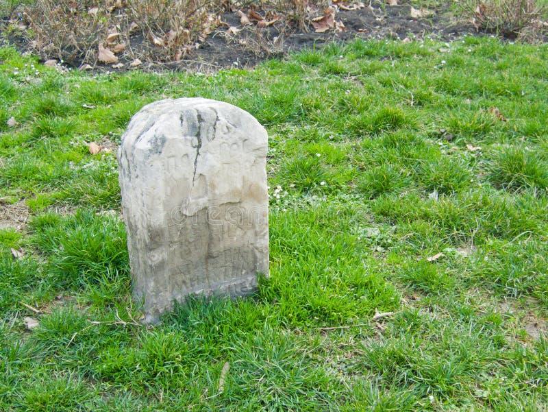gravestone fotografie stock