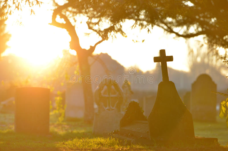 gravestone obraz royalty free