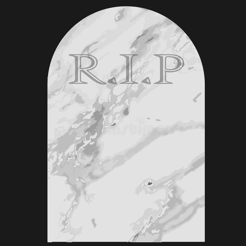 gravestone royaltyfri illustrationer
