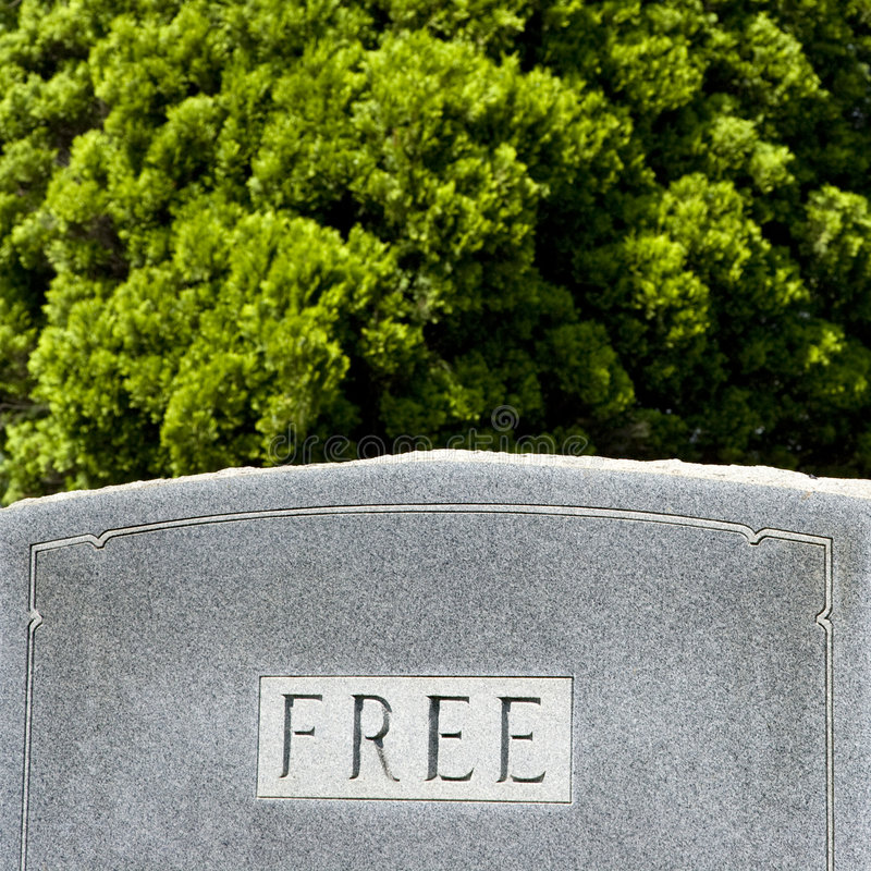 Gravestone with word stock images