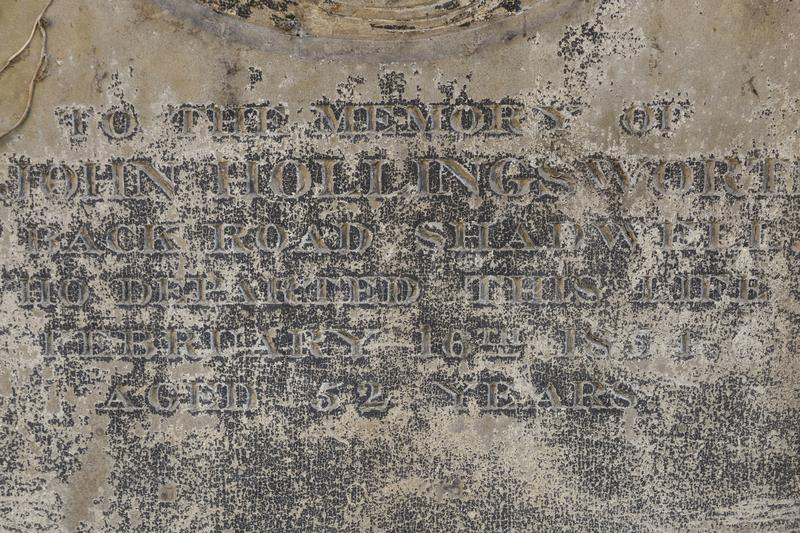 Gravestone with writing text royalty free stock photo