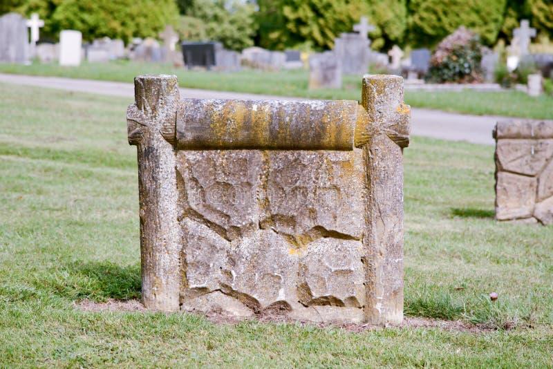 Gravestone wzór obrazy stock
