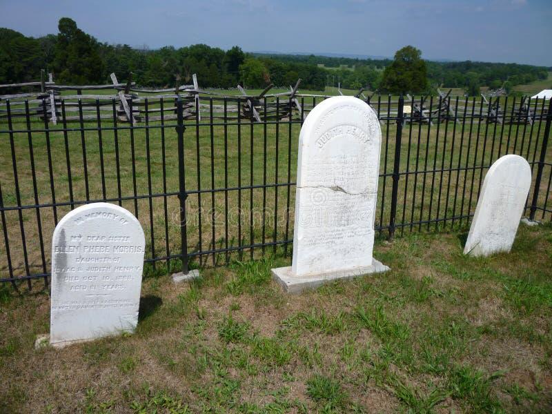 gravestones henry dom fotografia stock