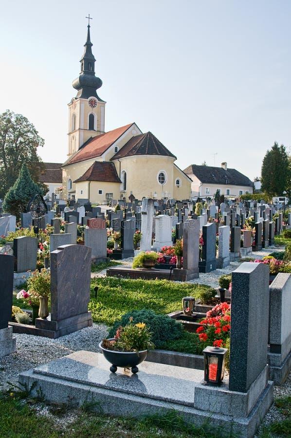 Download Graveyard In Austria Stock Image - Image: 13754161