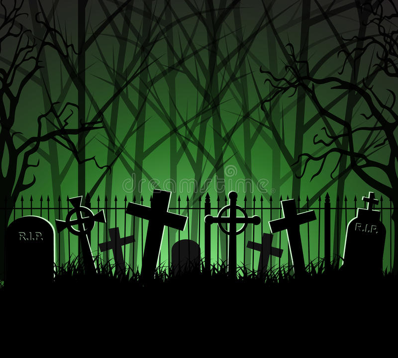 Free Graveyard Cemetery Tomb In Forest Royalty Free Stock Photography - 77660507