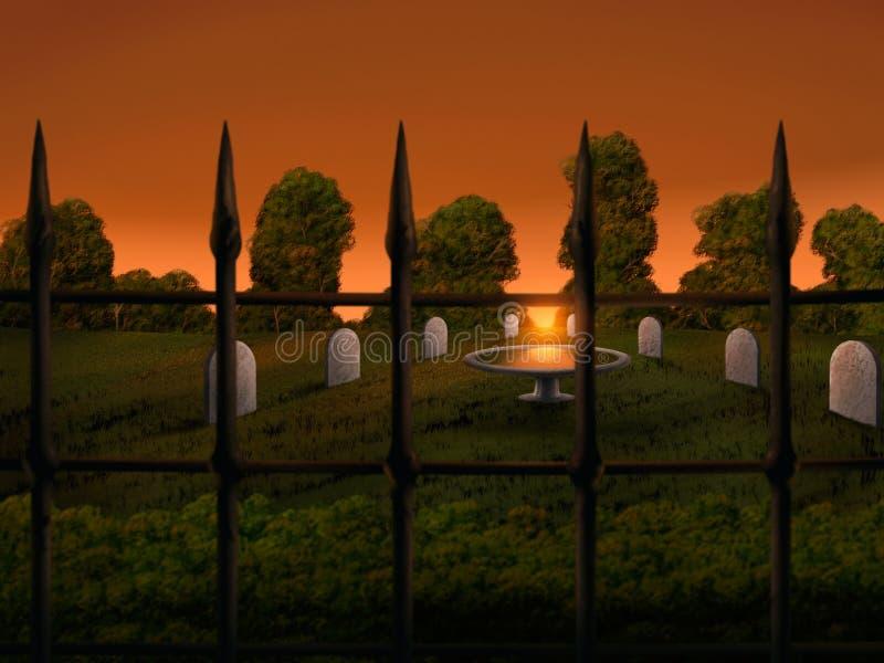 Download Graveyard - Digital Illustration Stock Illustration - Image: 22223521