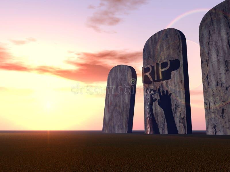 Download Graveyard Hand 17 stock illustration. Image of organic - 619109