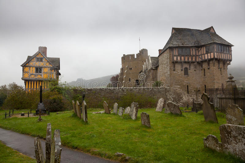 Download Graveyard By Stokesay Castle In Shropshire Stock Photo - Image: 24363938