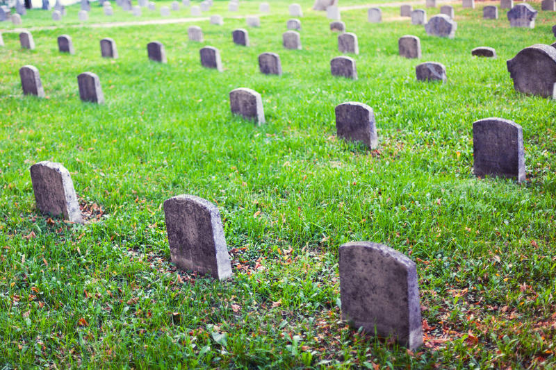 Download Graveyard tomb stones stock photo. Image of eternal, remembered - 36883500
