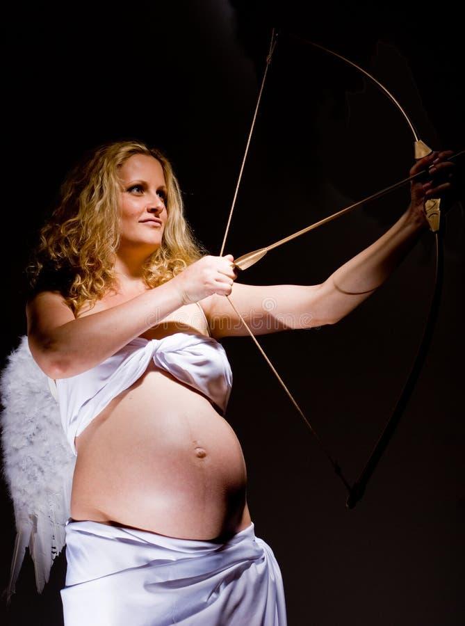 gravid ängel arkivfoton