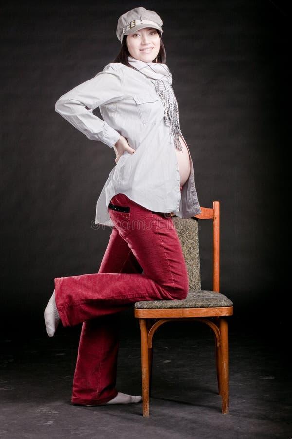 gravid mode arkivfoton