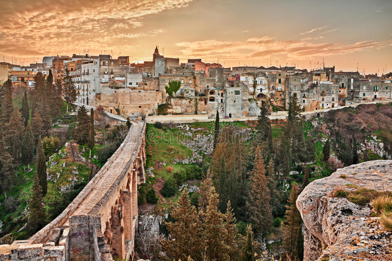 Gravina in Puglia, Bari, Italy stock photography