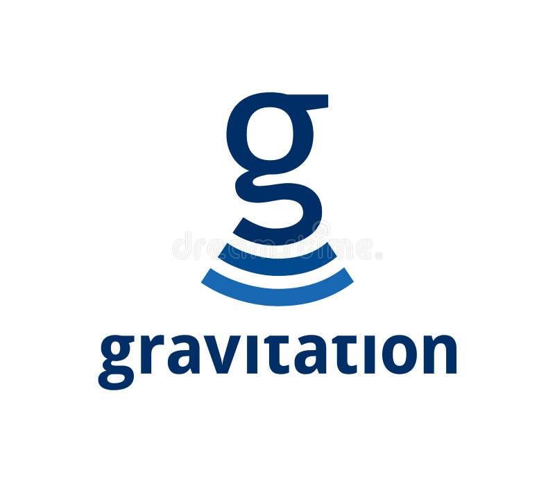 gravitation vektor abbildung