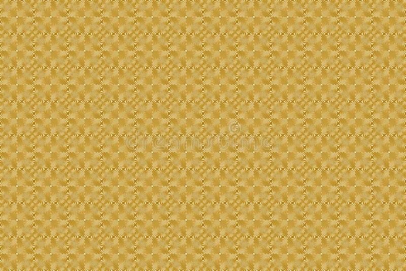 Gravura do teste padrão imagem de stock