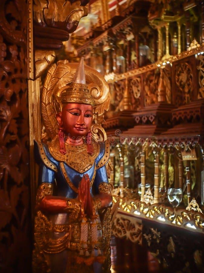 Gravure die van houten wordt gemaakt royalty-vrije stock afbeelding