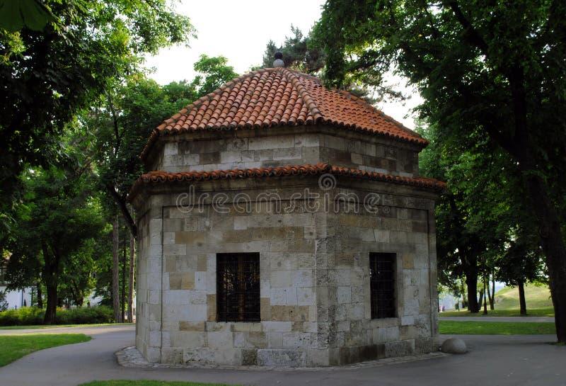Gravvalv av Damad Ali Pasha, Belgrade, Serbien fotografering för bildbyråer