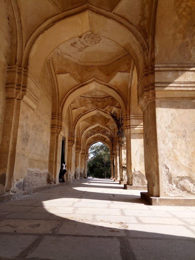 Gravvalv av Hyderabad royaltyfri foto