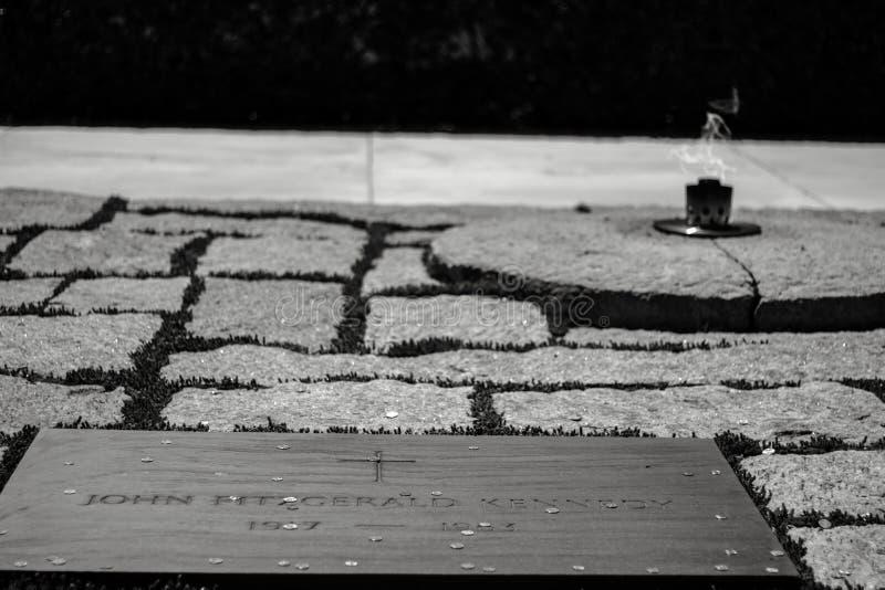 Gravvalv för JFK-` s fotografering för bildbyråer