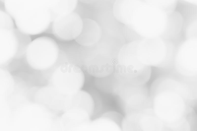 Gray abstract background circle bokeh for design backdrop stock image