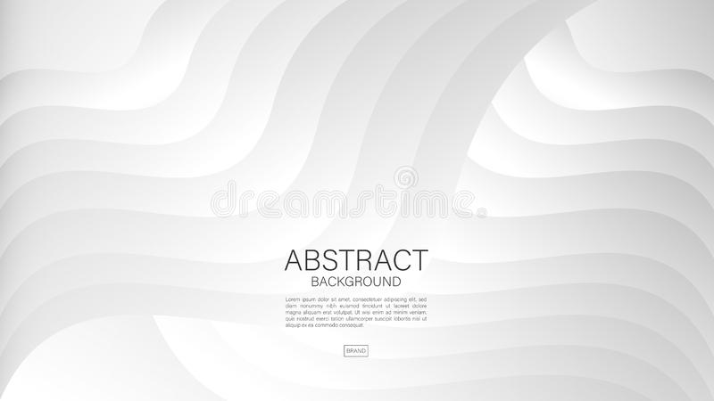 Gray abstract background, Geometric vector, graphic, Minimal Texture, cover design, flyer template, banner, web page, book cover. Advertisement royalty free illustration