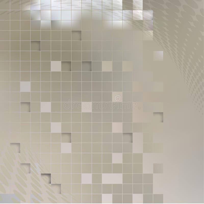 Gray Abstract Background - illustration de vecteur illustration libre de droits