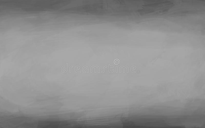 Gray abstract background painted with brush - design element stock illustration