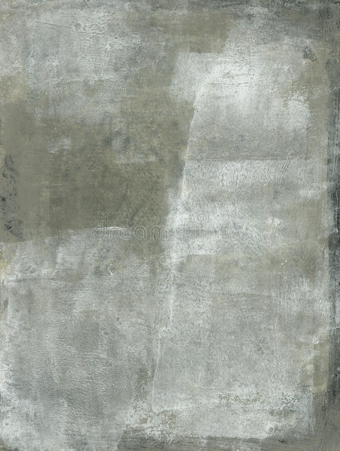 Gray Abstract Painting stock images