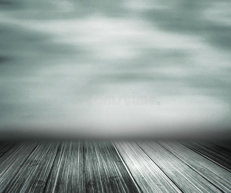Gray Abstract Stage Background stock abbildung