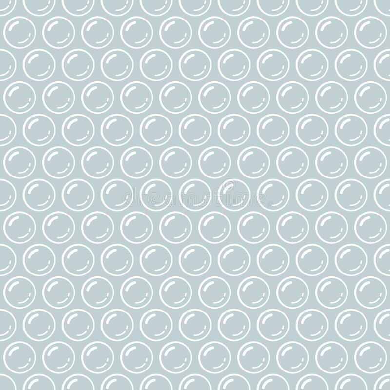 Free Gray And White Bubble Wrap Packing Material Seamless Pattern, Vector Royalty Free Stock Image - 123723876
