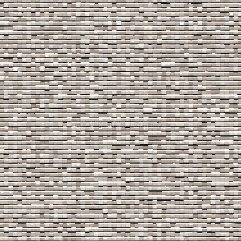 Download Gray Background Of Small Bricks Stock Vector