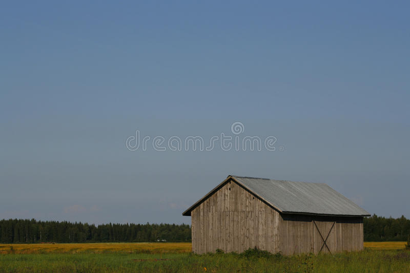 Gray barn stock images