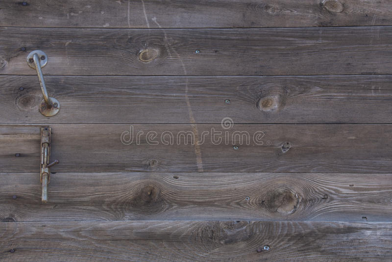 Gray Barn Wooden Wall Planking rektangulär textur Gamla Wood lantliga Grey Shabby Slats Background Ädelträmörker arkivbild