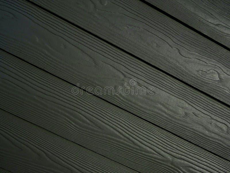 Gray Black Diagonal Wood Pattern-Achtergrond royalty-vrije stock foto's