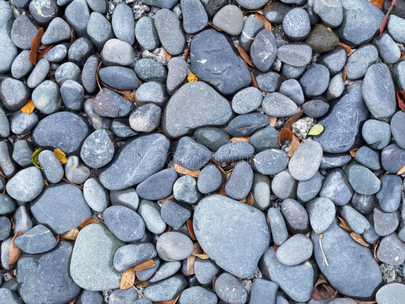 Gray Blue River Pebbles Background Royalty Free Stock Photo