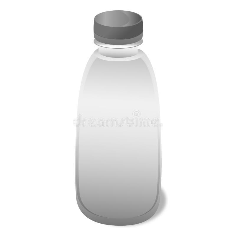Gray Bottle photo libre de droits