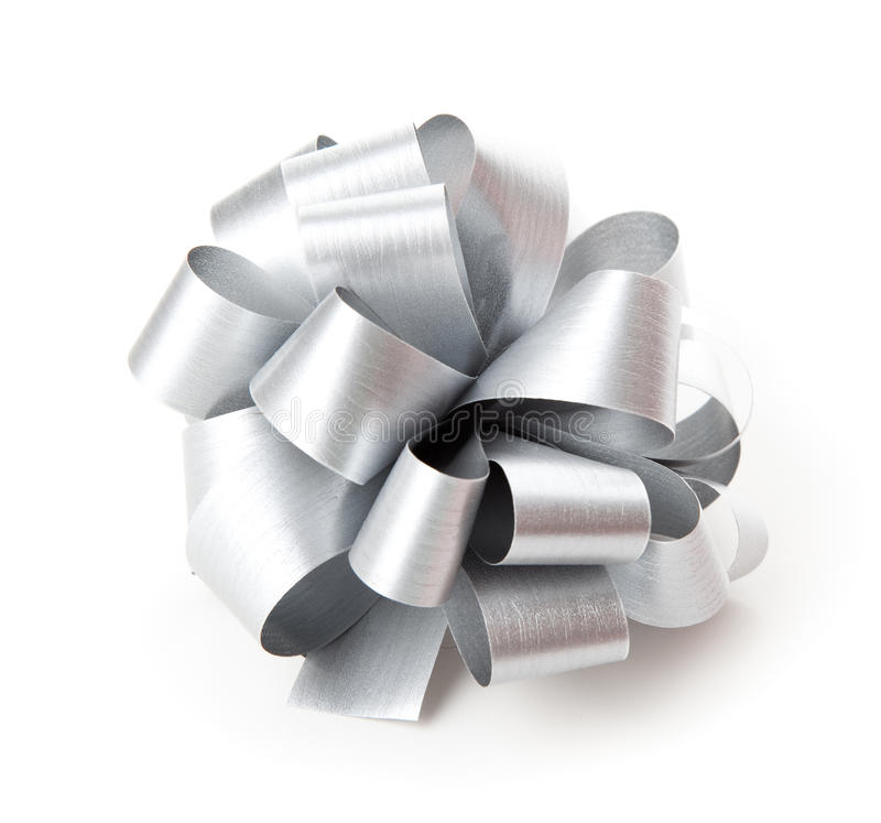 Download Gray Bow. Stock Photo - Image: 12475780