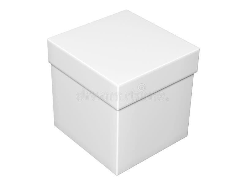 Gray Box Royalty Free Stock Photo