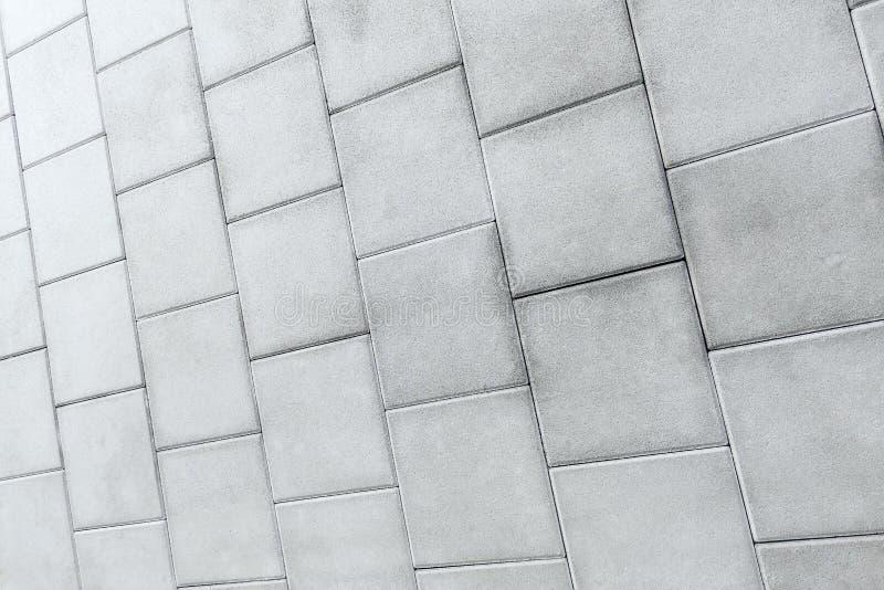 Gray Brick, Sidewalk, Street Road, Driveway, Pista de Piso Textura Padrão foto de stock