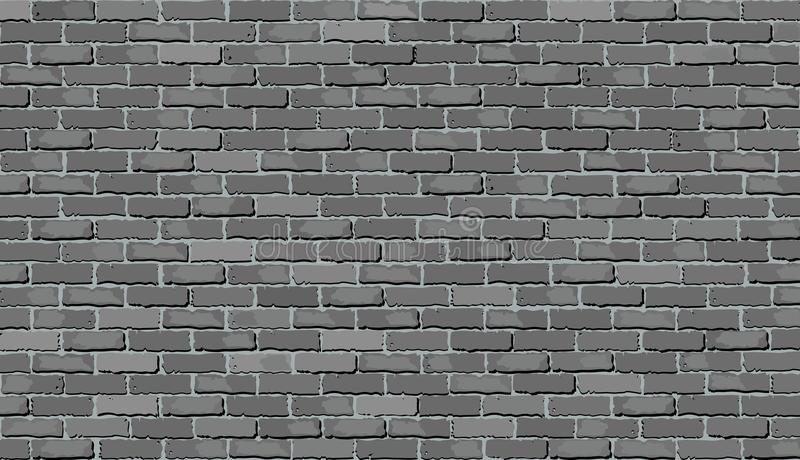Gray Brick Wall images libres de droits