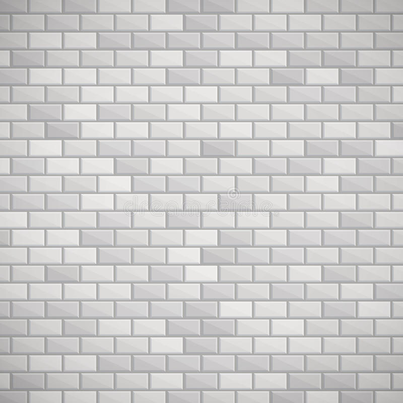 Gray Brick Wall royalty-vrije illustratie