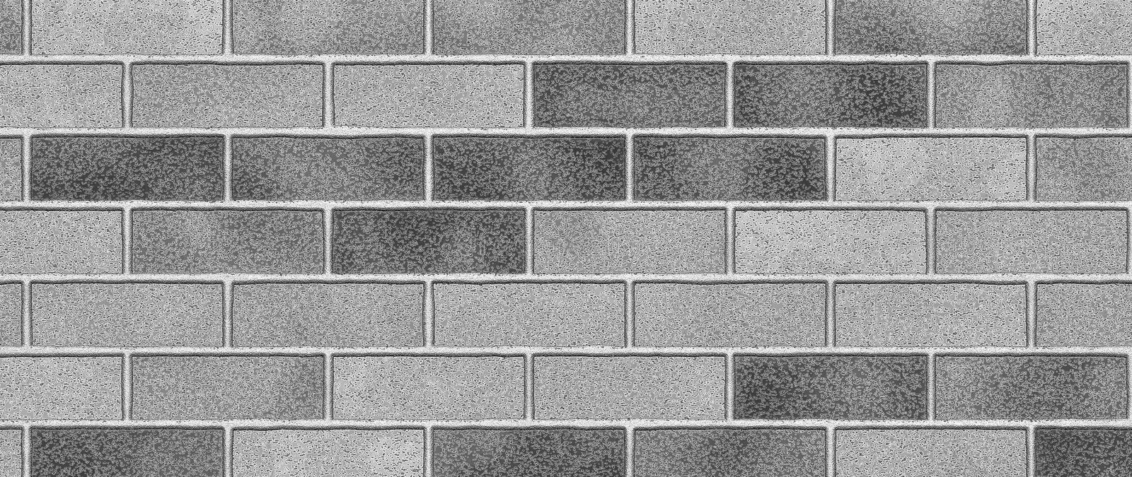 Gray brick wall abstract background. Texture of bricks stock image