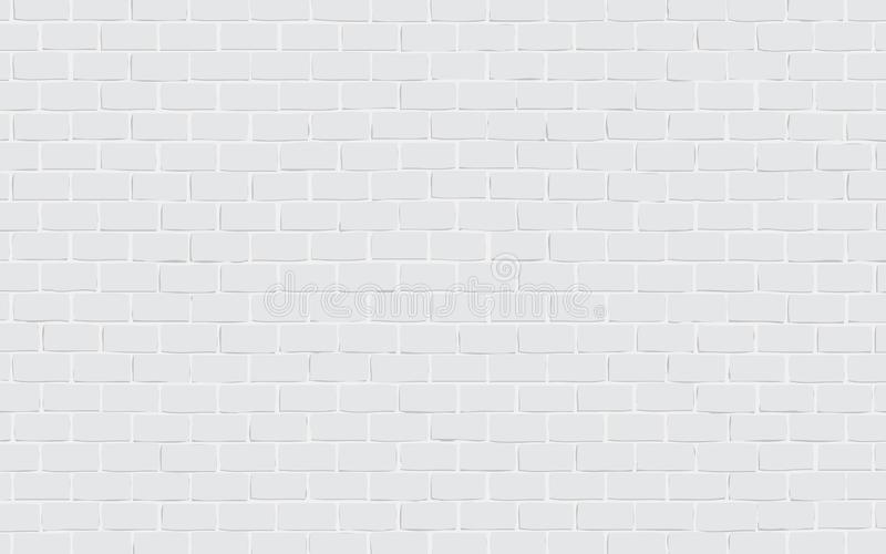 Gray brick wall background vector illustration