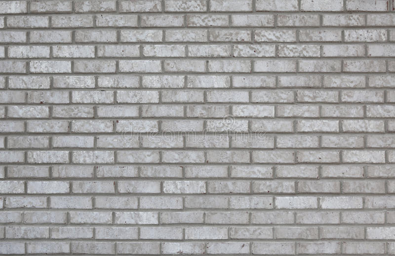 Gray Brick Wall Background Stock Image. Image Of Solid